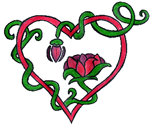 Decorative heart image